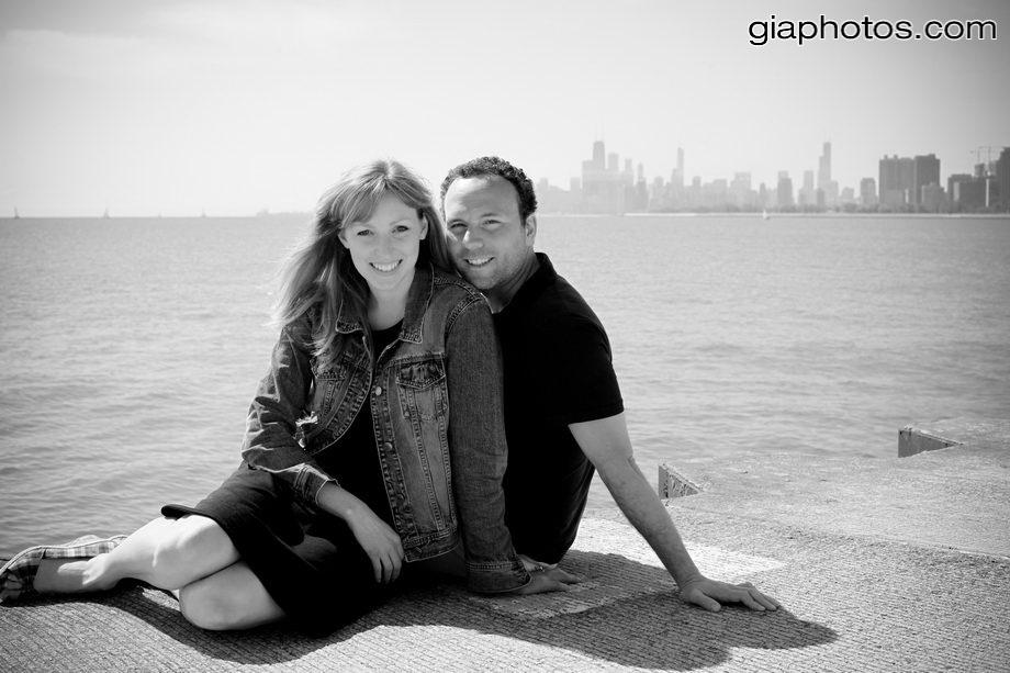 chicago wedding engagement photographer